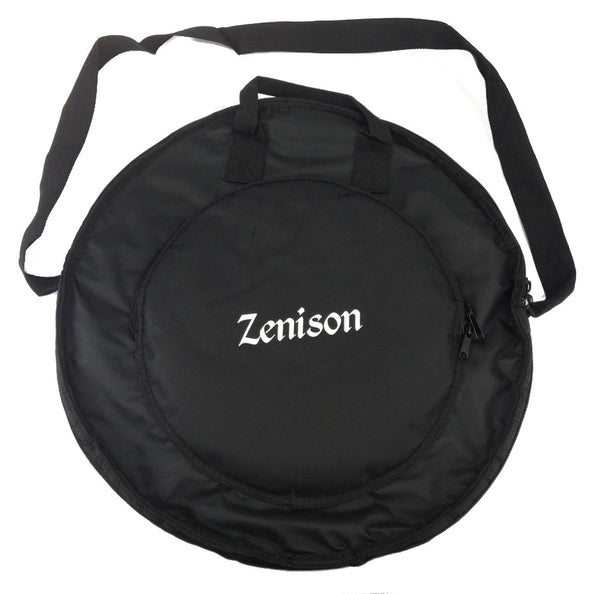 Deluxe CYMBAL BAG - PLUSH BLACK OXFORD NYLON drums NEW!