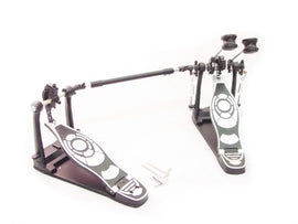 DOUBLE KICK DRUM PEDAL - ADJUSTABLE Professional NEW!