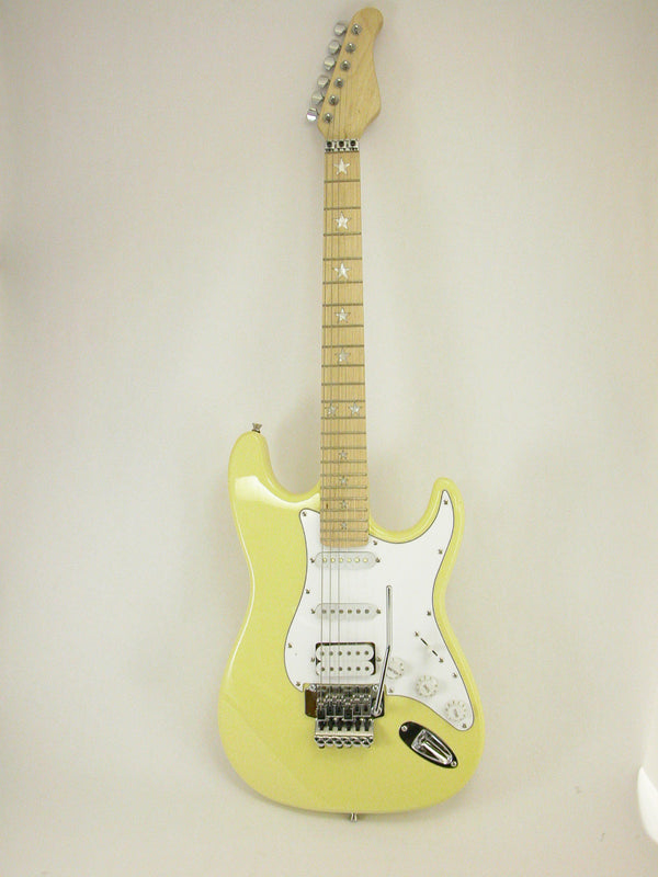 Electric Guitar Cream Locking Trem