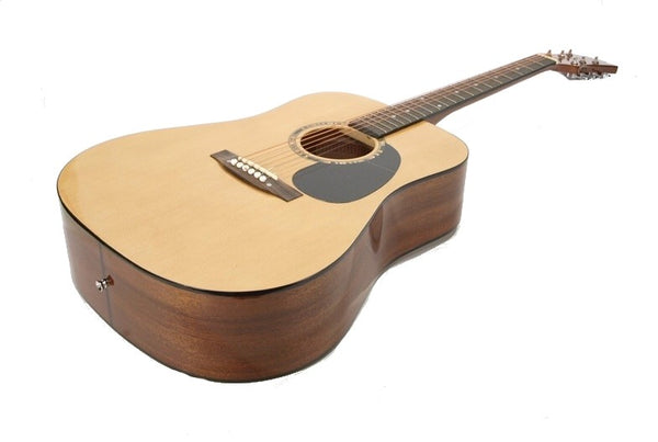 DREADNAUGHT ACOUSTIC GUITAR - Art Deco Traditional High Quality Spruce NEW