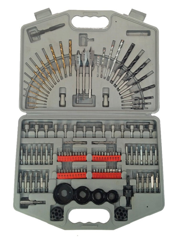 NEW DRILL BIT SET - 125 piece - DRIVERS