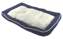 Pet Bed Cushion Mat Pad Dog Cat Kennel Crate Cozy Soft Sheep Fur 36 x 23 x 3""