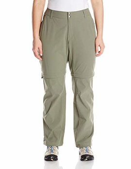 Columbia Women's Saturday Trail II Convertible Pant, Cypress, 6/Long