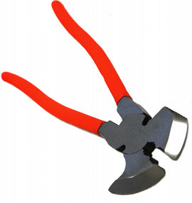 "NEW Fence Pliers 10.5"" In Multi Purpose Wire Cutter Fence Hammer Heavyduty Tool"
