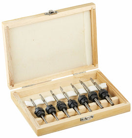 22 Piece Countersink Drill Bit Set with Case
