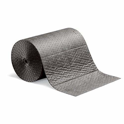New Pig Absorbent Mat Roll, Absorbs Oil and Water, Heavyweight, 32-Gallon Absorbency, 150' x 24