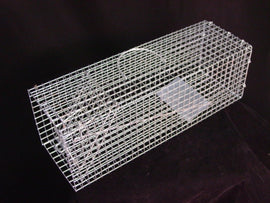 Single Door RIGID LIVE TRAP - Cage - Mice Rat Squirrels