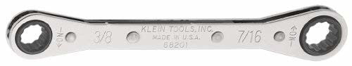 Klein Tools 68202 1/2-Inch by 9/16-Inch Ratcheting Box Wrench
