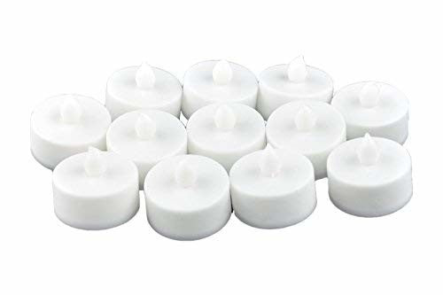 Instapark LCL Series Battery-powered Flameless LED Tealight/Tea Light Candles (One Dozen Pack)