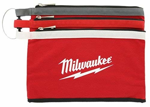 Milwaukee 48-22-8193 Zipper Pouches (3 Pack)