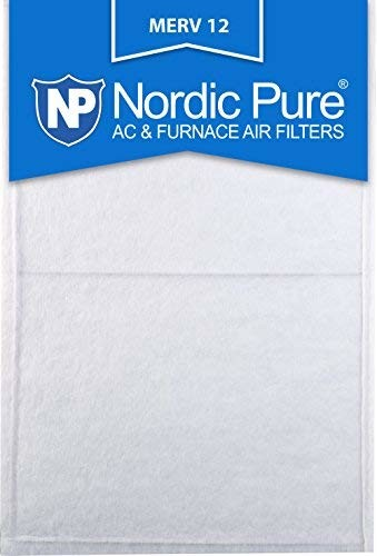 Nordic Pure 10x28x_1/2_M12-6 1/2-Inch Air Filter MERV 12, Box of 6