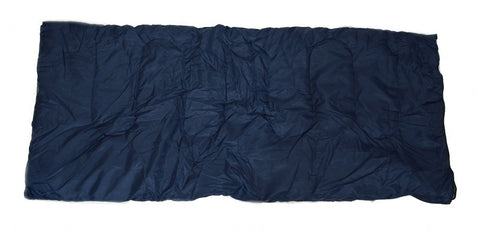 SLEEPING BAG - 20+ Degrees F- NAVY BLUE - CAMPING GEAR - Carrying Bag NEW