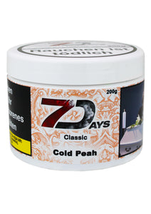 7 Days Tabak Classic 200g - Cold Peach