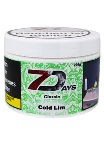 7 Days Tabak Classic 200g - Cold Lim