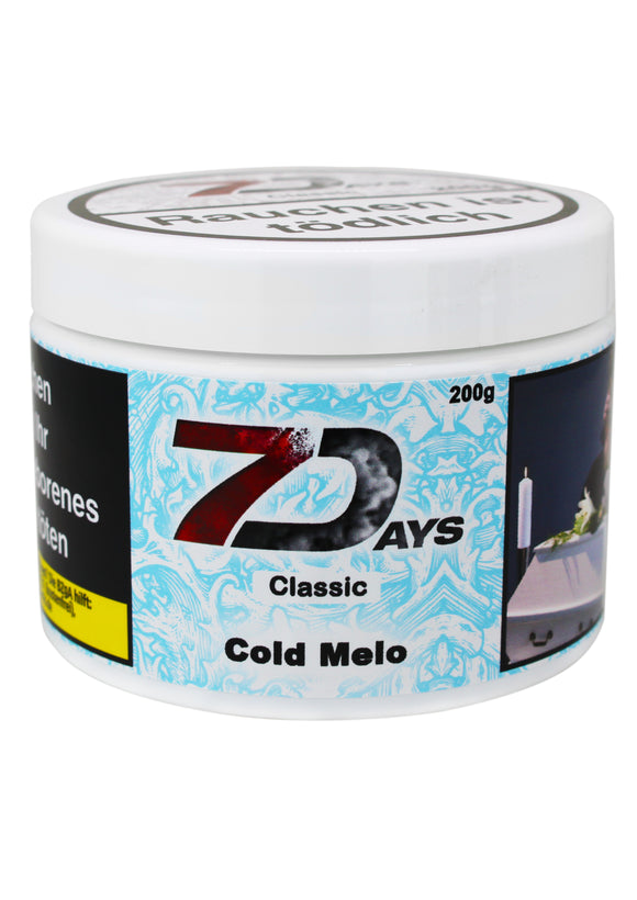 7 Days Tabak Classic 200g - Cold Melo