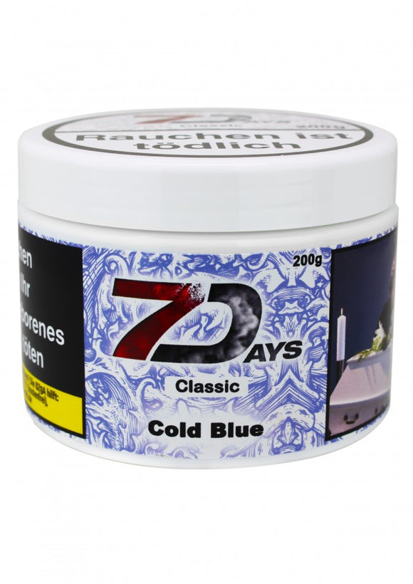 7 Days Tabak Classic 200g - Cold Blue