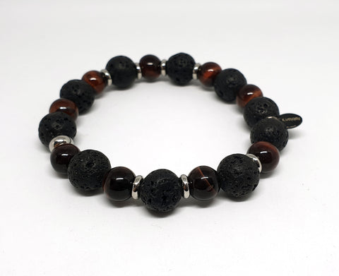Armband Red Lava