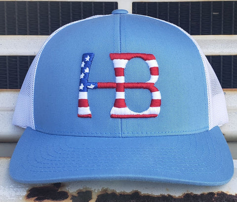 Huntington Beach Stars n Stripes Mesh SnapBack Cap