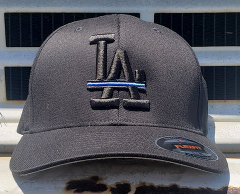 Los Angeles Thin Blue Line FlexFit Cap