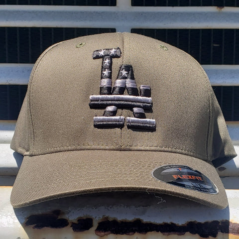 Los Angeles Stars n Stripes Subdued FlexFit Cap