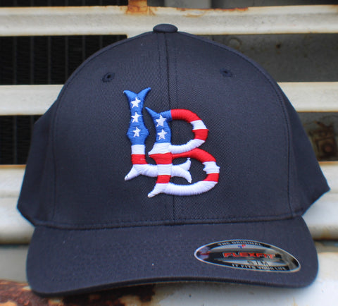 Long Beach Stars n Stripes FlexFit