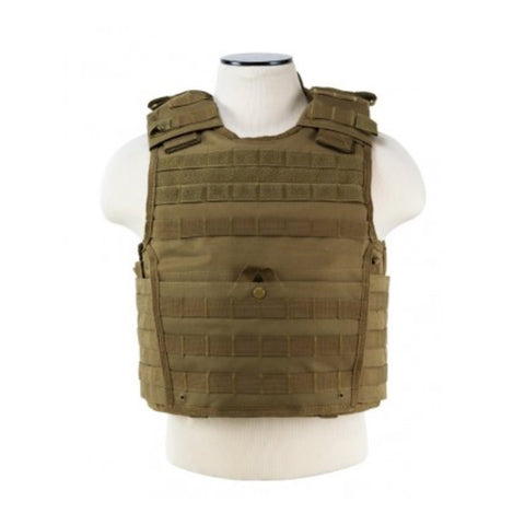 Plate Carrier Vest with Side Coverage