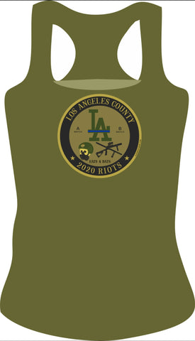Los Angeles County Female Tank Top
