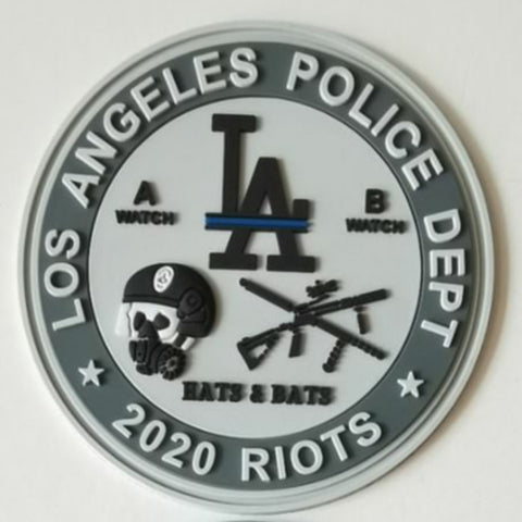 Los Angeles Police Dept 2020 Riots PVC Patch
