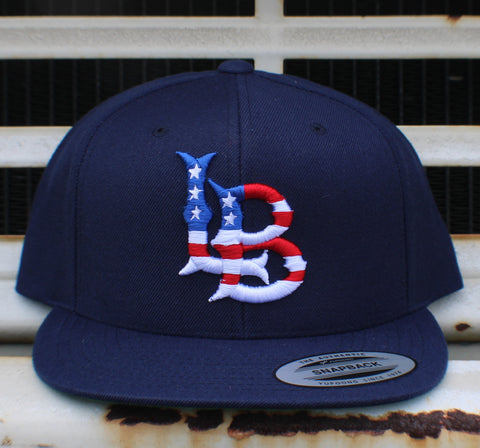 Long Beach Stars n Stripes SnapBack Cap