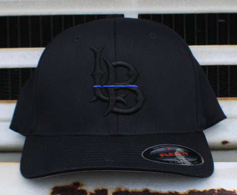 Long Beach Thin Blue Line Flexfit Cap