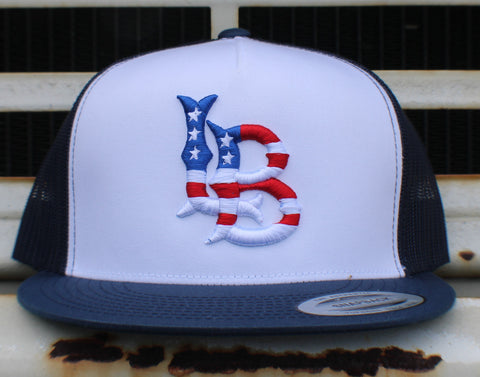 Long Beach Stars n Stripes Classic Mesh Back Trucker Cap