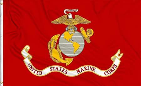 U.S. MARINE CORPS FLAG 3x5 ft