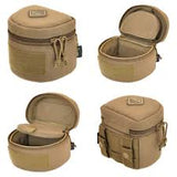 Jelly Roll (Medium) padded molle lens case by Hazard 4