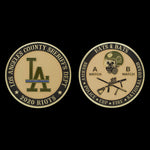 Los Angeles County 2020 Riots Challenge Coin