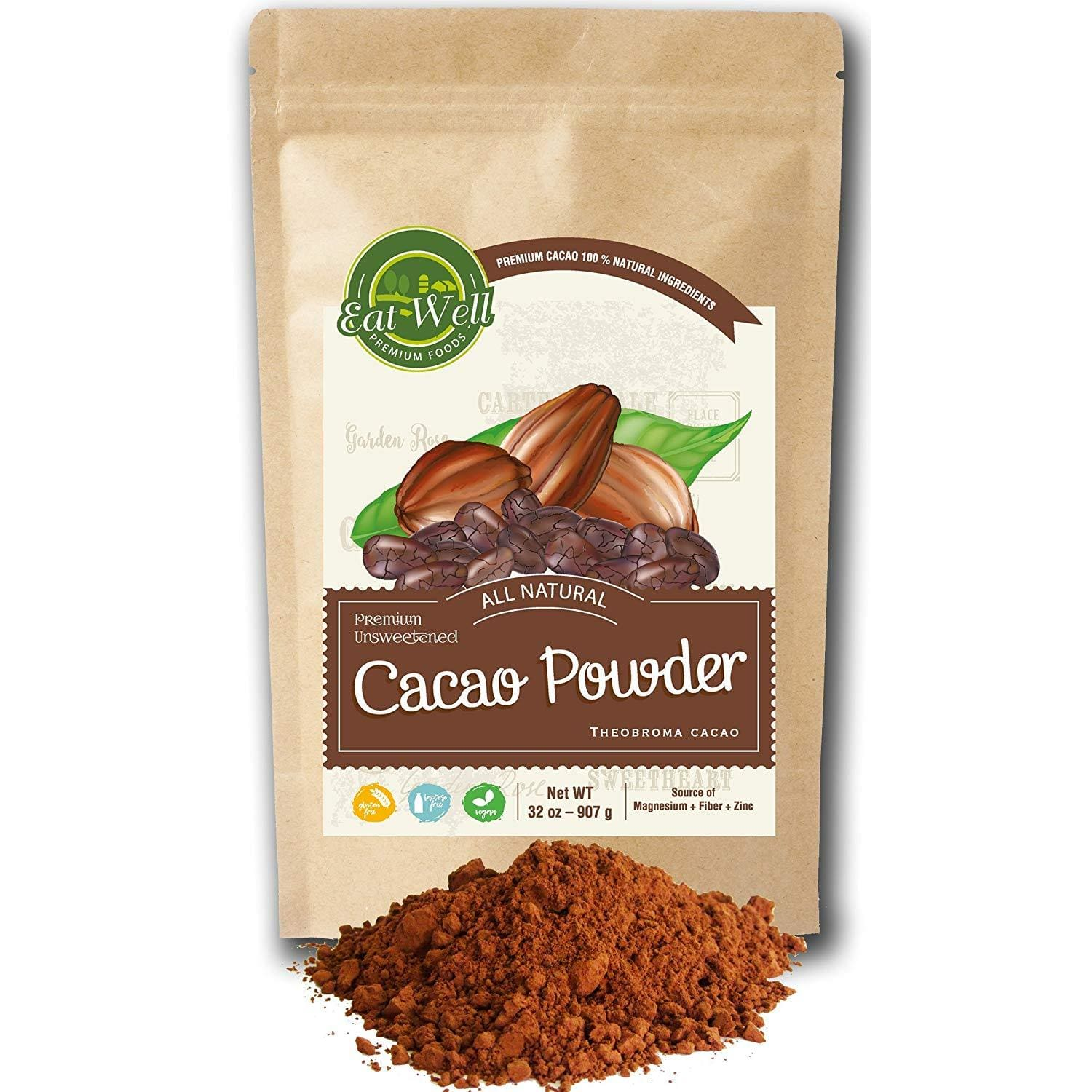 Dutch-Process Cocoa Powder - Reseable Bag
