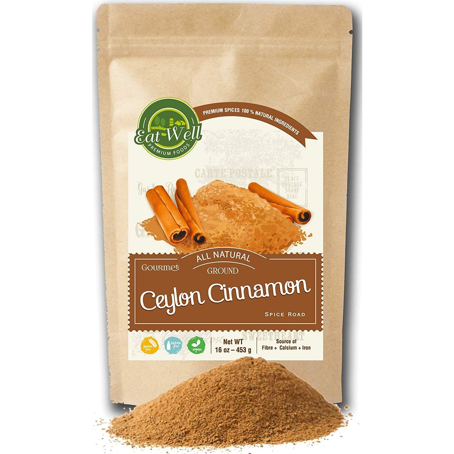 Ceylon Cinnamon  Powder | 15oz  Reseable Bag