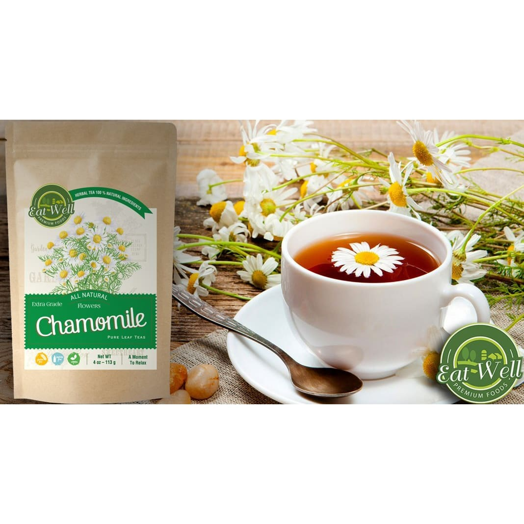 Chamomile Flowers  | 4 oz Reseable Bag