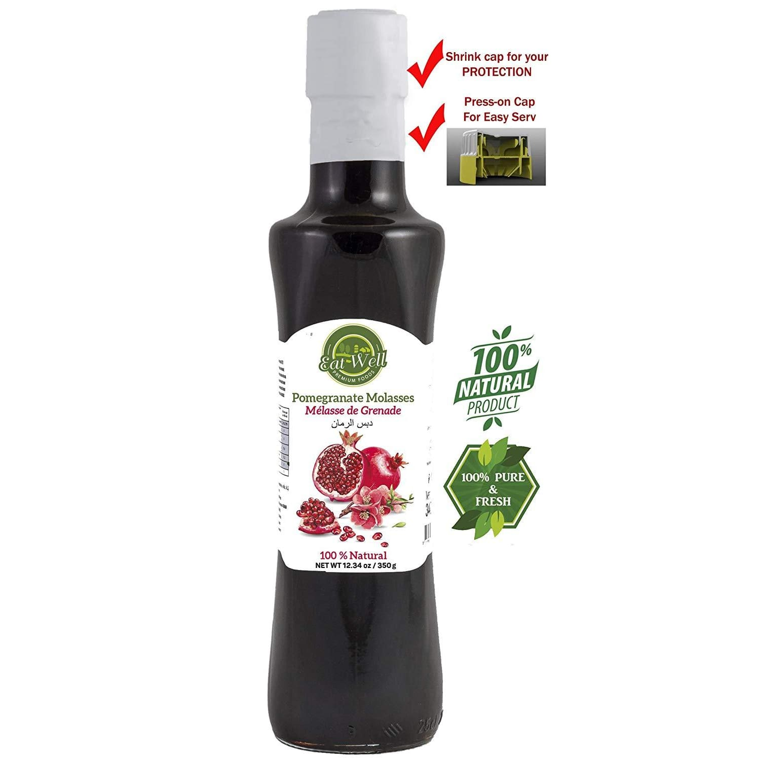Pomegranate Molasses  % 100 Natural