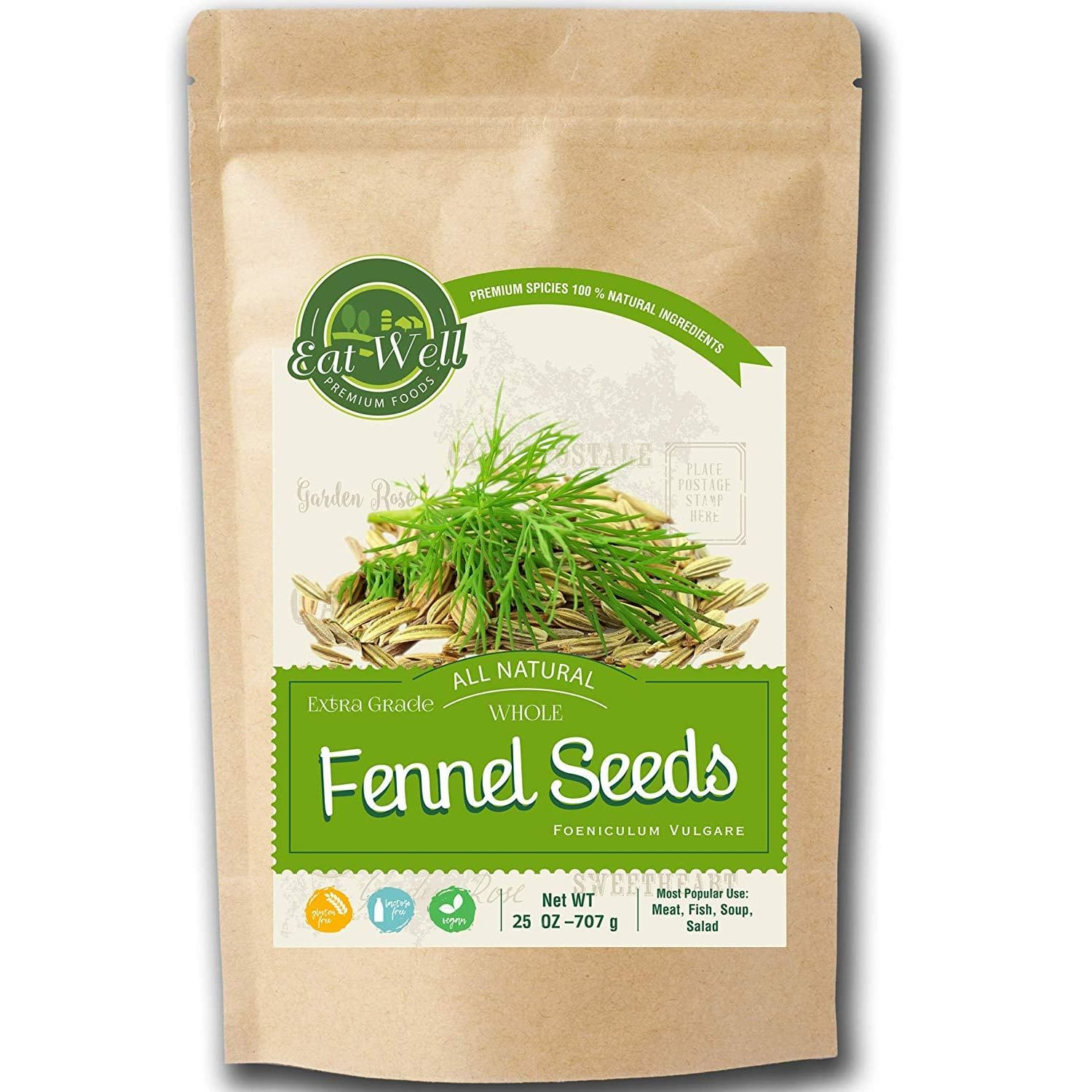 Fennel Seeds | 25oz - Reseable Bag