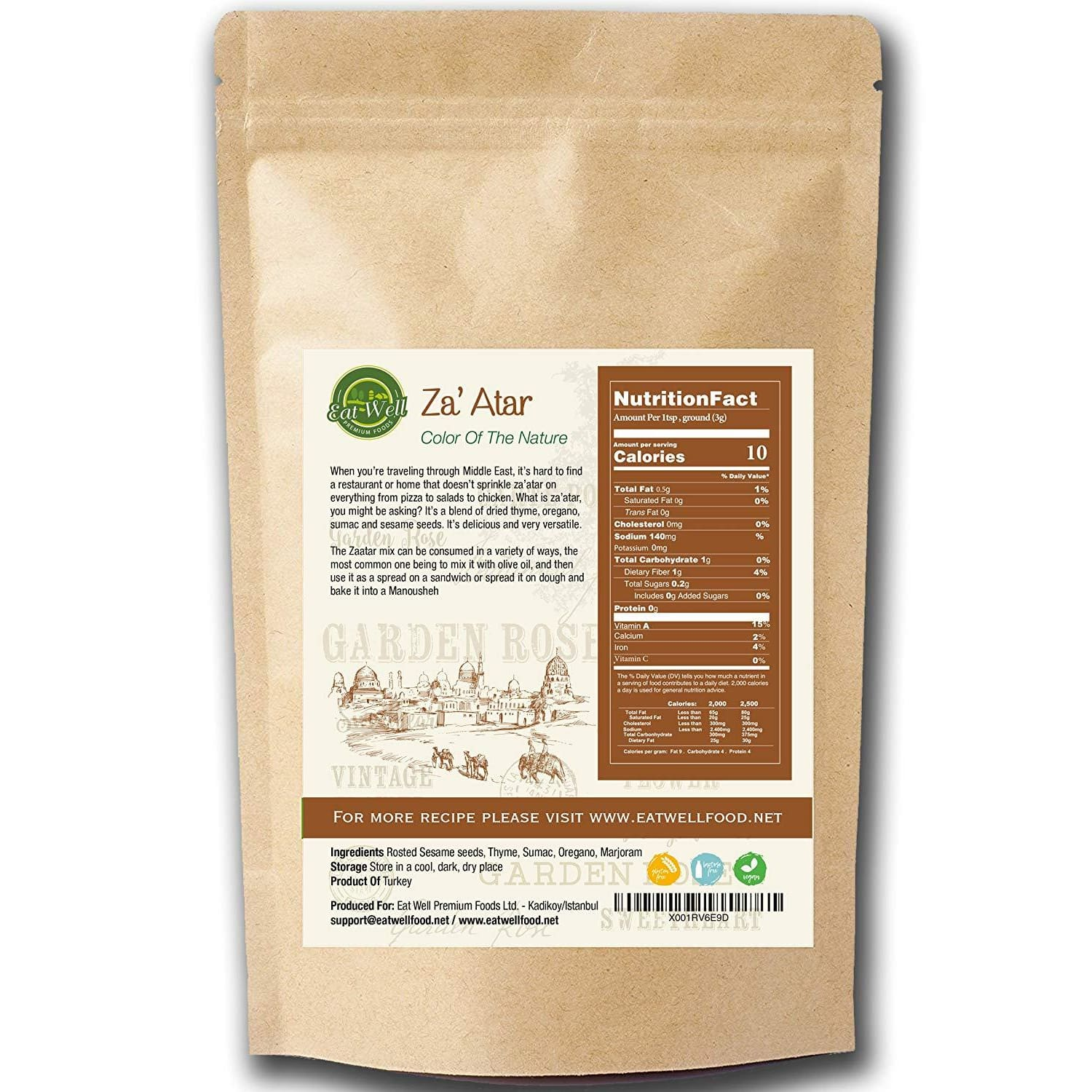 Za'atar Seasoning Blend | 8 oz