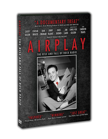 AIRPLAY: The Rise and Fall of Rock Radio    DVD