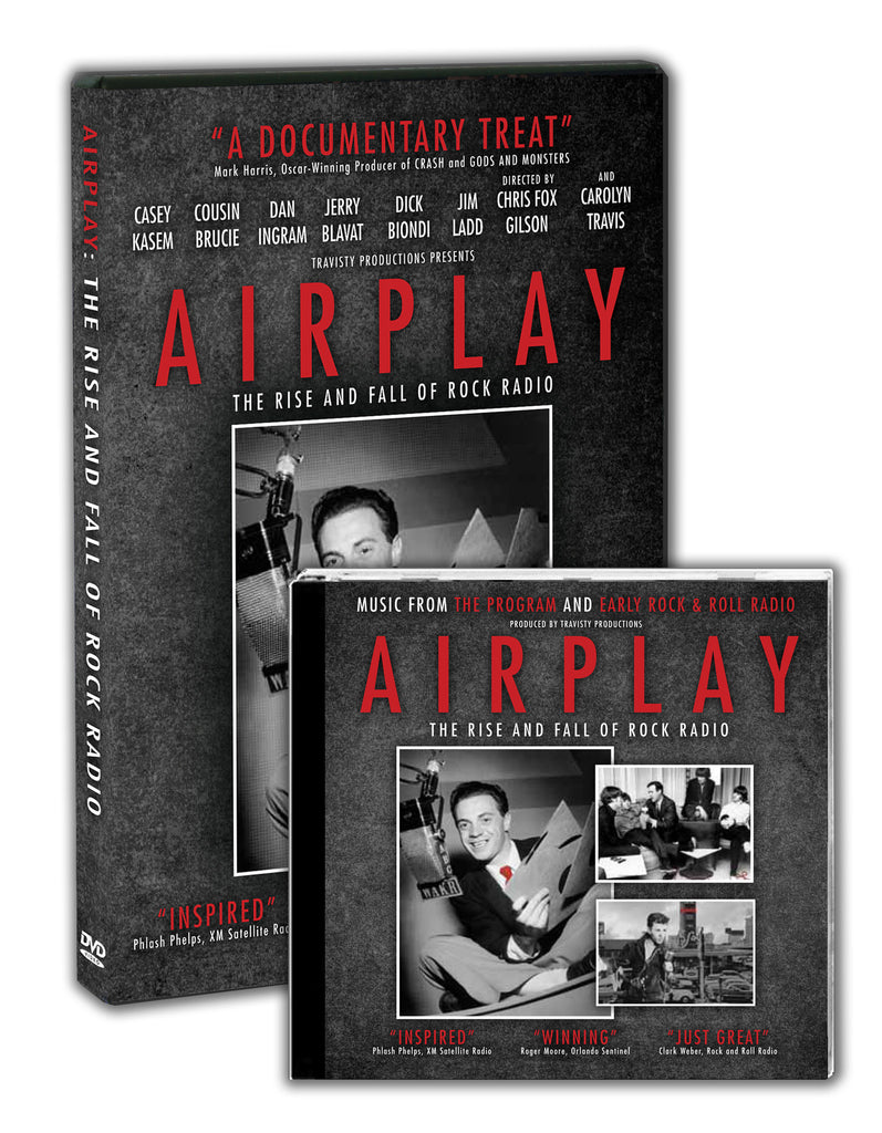 AIRPLAY: The Rise and Fall of Rock Radio  DVD/CD COMBO