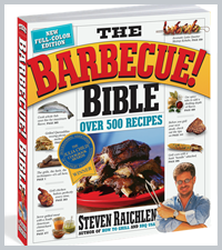 The Barbecue! Bible<BR>10th Anniversay Edition<BR>by Steven Raichlen