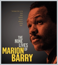 THE NINE LIVES OF MARION BARRY - DVD