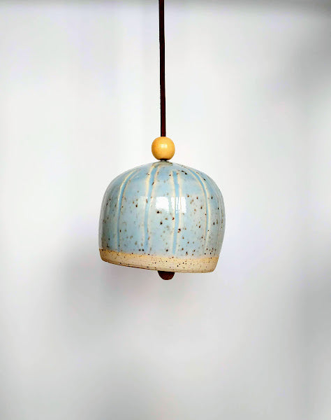 Pale Blue Decorative Bell