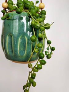 Green Hanging Planter