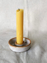 Load image into Gallery viewer, White Speckled Candle Holder