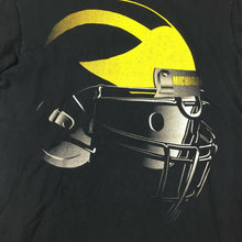 Load image into Gallery viewer, VTG Champion University of Michigan Wolverines Football T-Shirt Helmet Sz Small