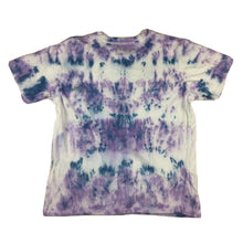 Load image into Gallery viewer, Custom Pigalle Tie Dye T-Shirt Purple/Blue Sz Small