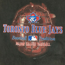 Load image into Gallery viewer, VTG Toronto Blue Jays T-Shirt Baseball Tradition 2001 Black 100% Cotton MLB Sz M